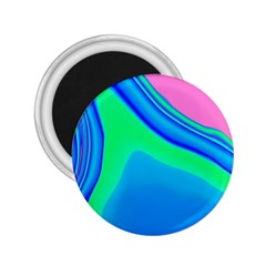 Aurora Color Rainbow Space Blue Sky 2 25  Magnets by Mariart