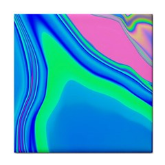 Aurora Color Rainbow Space Blue Sky Face Towel by Mariart
