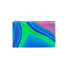 Aurora Color Rainbow Space Blue Sky Cosmetic Bag (small)  by Mariart