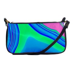 Aurora Color Rainbow Space Blue Sky Shoulder Clutch Bags by Mariart
