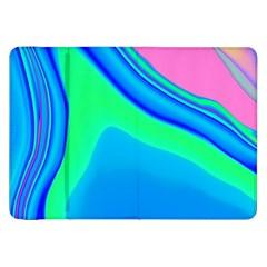 Aurora Color Rainbow Space Blue Sky Samsung Galaxy Tab 8 9  P7300 Flip Case by Mariart