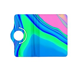 Aurora Color Rainbow Space Blue Sky Kindle Fire Hd (2013) Flip 360 Case by Mariart