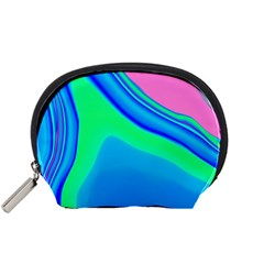 Aurora Color Rainbow Space Blue Sky Accessory Pouches (small)  by Mariart