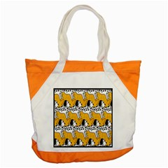 Animals Cat Dog Dalmation Accent Tote Bag by Mariart