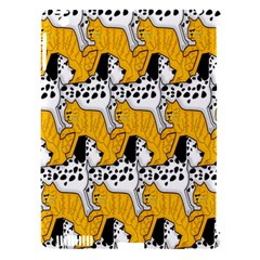 Animals Cat Dog Dalmation Apple Ipad 3/4 Hardshell Case (compatible With Smart Cover) by Mariart