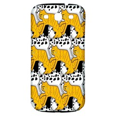 Animals Cat Dog Dalmation Samsung Galaxy S3 S Iii Classic Hardshell Back Case by Mariart