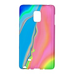 Aurora Color Rainbow Space Blue Sky Purple Yellow Green Pink Galaxy Note Edge by Mariart