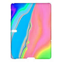 Aurora Color Rainbow Space Blue Sky Purple Yellow Green Pink Samsung Galaxy Tab S (10 5 ) Hardshell Case  by Mariart