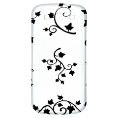Black Leaf Tatto Samsung Galaxy S3 S Iii Classic Hardshell Back Case by Mariart