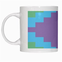 Carmigender Flags Rainbow White Mugs by Mariart
