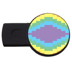 Carmigender Flags Rainbow Usb Flash Drive Round (4 Gb) by Mariart