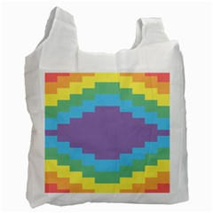 Carmigender Flags Rainbow Recycle Bag (one Side) by Mariart