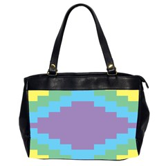 Carmigender Flags Rainbow Office Handbags (2 Sides)  by Mariart
