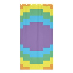 Carmigender Flags Rainbow Shower Curtain 36  X 72  (stall)  by Mariart