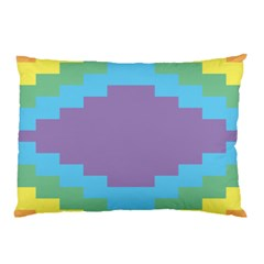 Carmigender Flags Rainbow Pillow Case (two Sides) by Mariart