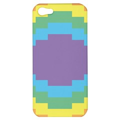 Carmigender Flags Rainbow Apple Iphone 5 Hardshell Case by Mariart