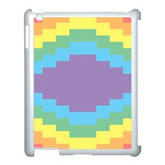 Carmigender Flags Rainbow Apple Ipad 3/4 Case (white) by Mariart