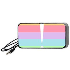 Condigender Flags Portable Speaker (black) by Mariart