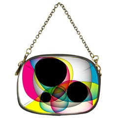 Apollonius Color Multi Circle Polkadot Chain Purses (one Side)  by Mariart