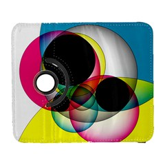 Apollonius Color Multi Circle Polkadot Galaxy S3 (flip/folio) by Mariart