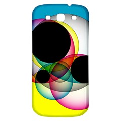 Apollonius Color Multi Circle Polkadot Samsung Galaxy S3 S Iii Classic Hardshell Back Case by Mariart