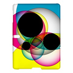 Apollonius Color Multi Circle Polkadot Samsung Galaxy Tab S (10 5 ) Hardshell Case  by Mariart