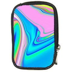 Aurora Color Rainbow Space Blue Sky Purple Yellow Green Pink Red Compact Camera Cases by Mariart