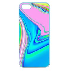 Aurora Color Rainbow Space Blue Sky Purple Yellow Green Pink Red Apple Seamless Iphone 5 Case (color) by Mariart
