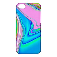 Aurora Color Rainbow Space Blue Sky Purple Yellow Green Pink Red Apple Iphone 5c Hardshell Case by Mariart