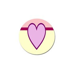 Cute Gender Gendercute Flags Love Heart Line Valentine Golf Ball Marker (4 Pack) by Mariart