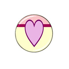 Cute Gender Gendercute Flags Love Heart Line Valentine Hat Clip Ball Marker (10 Pack) by Mariart