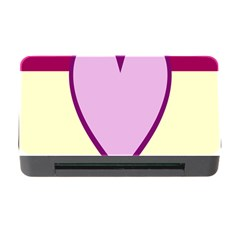 Cute Gender Gendercute Flags Love Heart Line Valentine Memory Card Reader With Cf by Mariart