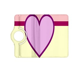 Cute Gender Gendercute Flags Love Heart Line Valentine Kindle Fire Hd (2013) Flip 360 Case by Mariart