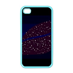 Contigender Flags Star Polka Space Blue Sky Black Brown Apple Iphone 4 Case (color) by Mariart
