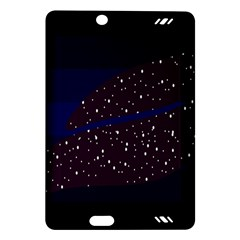 Contigender Flags Star Polka Space Blue Sky Black Brown Amazon Kindle Fire Hd (2013) Hardshell Case by Mariart