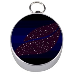 Contigender Flags Star Polka Space Blue Sky Black Brown Silver Compasses by Mariart