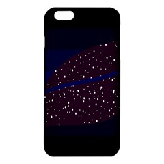 Contigender Flags Star Polka Space Blue Sky Black Brown Iphone 6 Plus/6s Plus Tpu Case by Mariart