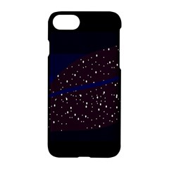 Contigender Flags Star Polka Space Blue Sky Black Brown Apple Iphone 7 Hardshell Case by Mariart