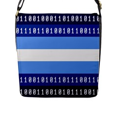 Digigender Cute Gender Gendercute Flags Flap Messenger Bag (l)  by Mariart