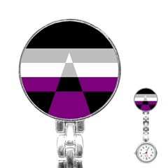 Dissexual Flag Stainless Steel Nurses Watch by Mariart