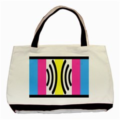 Echogender Flags Dahsfiq Echo Gender Basic Tote Bag (two Sides) by Mariart