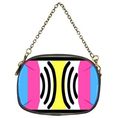 Echogender Flags Dahsfiq Echo Gender Chain Purses (one Side)  by Mariart