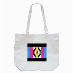 Echogender Flags Dahsfiq Echo Gender Tote Bag (white) by Mariart