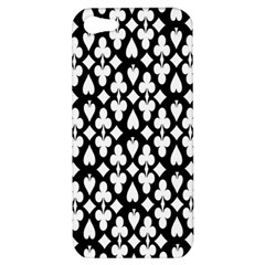 Dark Horse Playing Card Black White Apple Iphone 5 Hardshell Case by Mariart