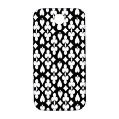 Dark Horse Playing Card Black White Samsung Galaxy S4 I9500/i9505  Hardshell Back Case by Mariart