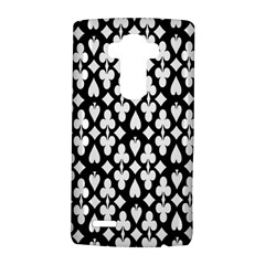 Dark Horse Playing Card Black White Lg G4 Hardshell Case by Mariart