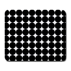 Dotted Pattern Png Dots Square Grid Abuse Black Large Mousepads by Mariart