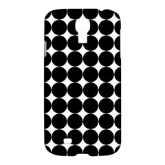 Dotted Pattern Png Dots Square Grid Abuse Black Samsung Galaxy S4 I9500/i9505 Hardshell Case by Mariart