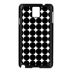 Dotted Pattern Png Dots Square Grid Abuse Black Samsung Galaxy Note 3 N9005 Case (black) by Mariart