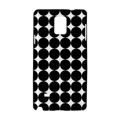 Dotted Pattern Png Dots Square Grid Abuse Black Samsung Galaxy Note 4 Hardshell Case by Mariart